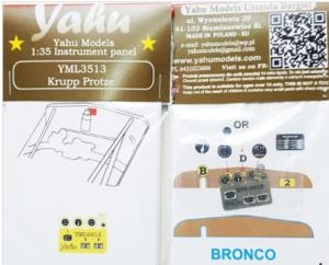 Yahu YML3513 Krupp Protze/ Bronco 1/35
