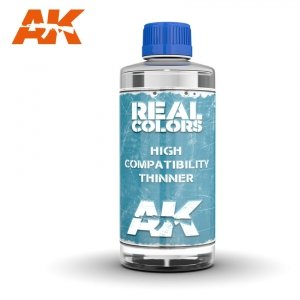 AK Interactive RC702 REAL COLORS THINNER 400ml