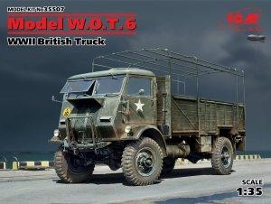 ICM 35507 Model W.O.T. 6, WWII British Truck (1:35)