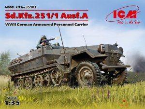 ICM 35101 Sd.Kfz.251/1 Ausf.A 1/35