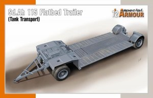 Special Armour 72022 Sd.Ah 115 Flatbed Trailer (Tank Transport) 1/72