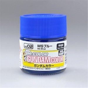 Gunze Sangyo UG-02 MS Blue 10 ml (Semi-Gloss)