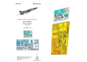 Microdesign MD 072036 MiG-23MLD Zvezda 1/72