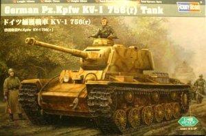 Hobby Boss 84818 German Pz.Kpfw KV-1 756 (1:48)