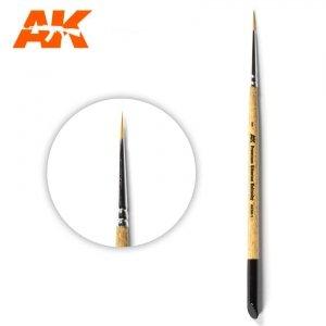 AK Interactive AKSK-1 PREMIUM SIBERIAN KOLINSKY BRUSH – 1