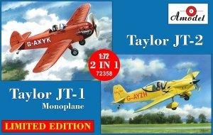 Amodel 72358 Taylor JT-1 Monoplane & Taylor JT-2 1/72