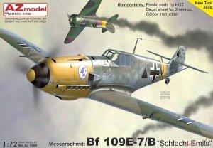 AZ Model AZ7659 Messerschmitt Bf.109E-7 1/72