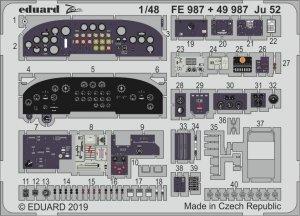 Eduard 49987 Ju 52 1/48 REVELL