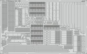 Eduard 53236 CVN-65 Enterprise pt.4 1/350 TAMIYA