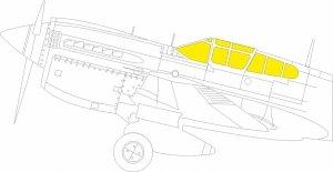Eduard JX276 P-40M TFace TRUMPETER 1/32