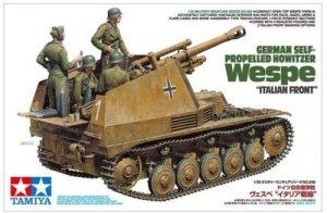 Tamiya 35358 German Self-Propelled Howitzer Wespe Italian Front (1:35)