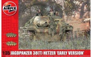 "Airfix 1355 JagdPanzer 38(t) Hetzer ""Early Version"" 1/35"