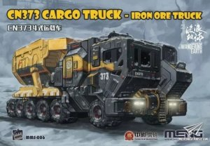 Meng Model MMS-006 The Wandering Earth CN373 Cargo Truck Iron Ore Truck