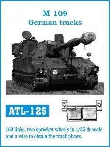 Friulmodel 1:35 ATL-125 M-109 German tracks