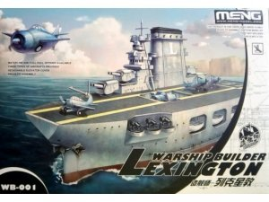 Meng Model WB-001 Warship builder Aircraft carrier Lexington