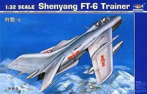 Trumpeter 02208 Shenyang FT-6 Trainer 1/32