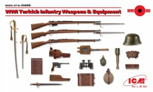 ICM 35699 WWI Turkich Infantry Weapons & Equipment (1:35)