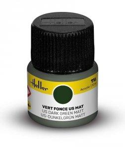 Heller 9116 116 US Dark Green - Matt 12ml