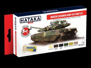 Hataka HTK-AS112 Modern Ukrainian Army AFV paint set