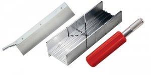 Excel 55666 Mitre Box w/K5 Handle & Saw Blade