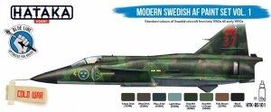 Hataka HTK-BS101 Modern Swedish AF Paint Set Vol. 1