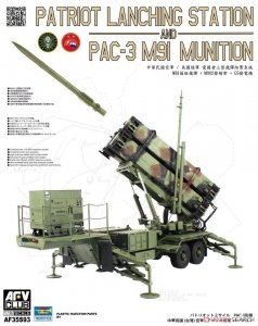 AFV Club AF35S93 M901 Launching Station and MIM-104F PATRIOT PAC-3 R.O.C. 1/35