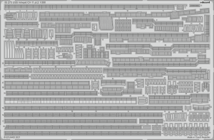 Eduard 53273 USS Intrepid CV-11 pt.2 TRUMPETER 1/350