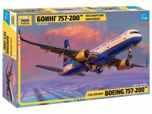 Zvezda 7032 Civil airliner Boeing 757-200 1/144