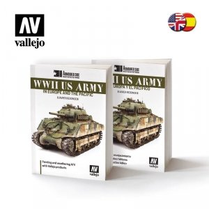 Vallejo 75019 WWII US ARMY in Europe and the Pacific - ENGLISH/SPANISH