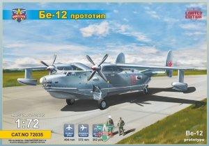 Modelsvit 72035 Beriev Be-12 Prototype flying boat 1/72