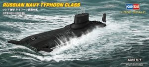Hobby Boss 87019 Russian Navy Typhoon Class 1/700
