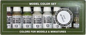 Vallejo 70137 Building paint set 8pcs