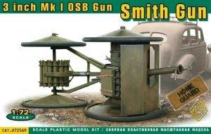 ACE 72569 3-inch Smith Anti-Tank Gun 1/72