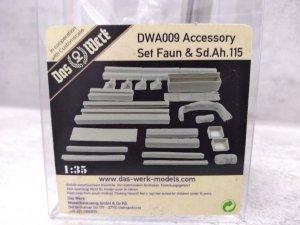 Das Werk DWA009 Accessories Set Faun & Sd.Ah.115 1/35