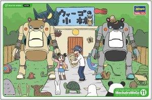 Hasegawa 64765 MechatroWeGo 11 RS Morino & Ash 2 Set 1:35