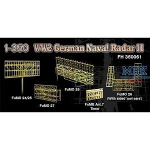 Flyhawk FH350061 WWII German Navy Radar II 1/350