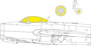 Eduard EX775 MiG-15bis BRONCO / HOBBY 2000 1/48