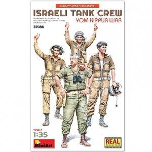 MiniArt 37086 ISRAELI TANK CREW. YOM KIPPUR WAR 1/35
