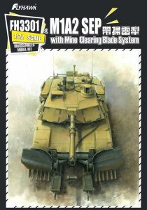 Flyhawk FH3301 M1A2 SEP with Mine Clearing Blade System (1:72)