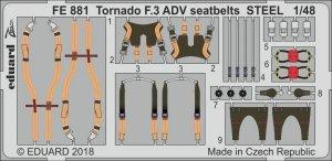 Eduard FE881 Tornado F.3 ADV seatbelts STEEL REVELL 1/48