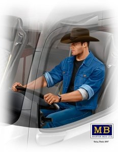 Master Box 24044 Truckers Series Mike (Beach Boy) Barrington 1/24