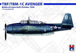 Hobby 2000 72010 TBF/TBM-1C Avenger Battle of Leyte Gulf, October 1944 1/72