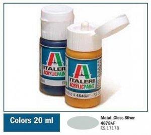 Italeri 4678 GLOSS SILVER 20ml