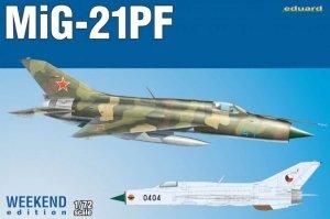 Eduard 7455 MiG-21PF 1/72