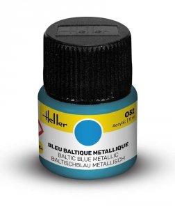 Heller 9052 052 Baltic Blue - Metallic 12ml