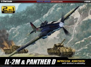 Academy 12538 IL-2M / Panther D 1/72