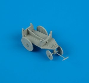 Quickboost QB48102 German WWII support cart for external fuel tank  1/48