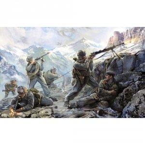 Zvezda 3606 SOVIET MOUNTAIN INFANTRY WWII 1942 1/35