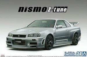 Aoshima 05831 Nismo BNR34 Skyline GT-R Z-t 1/24