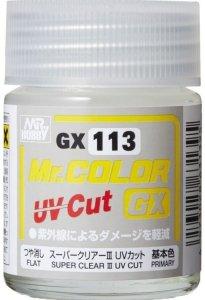 Gunze Sangyo GX113 SUPER CLEAR Ⅲ UV CUT FLAT